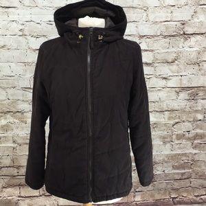 L.L. Bean Black Puffer Winter Jacket